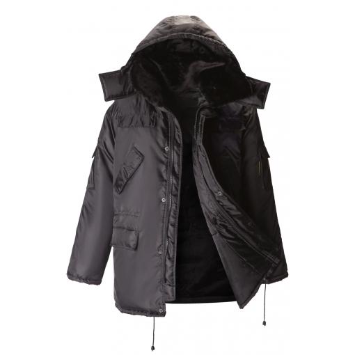 Куртка непромокаемая зимняя черная