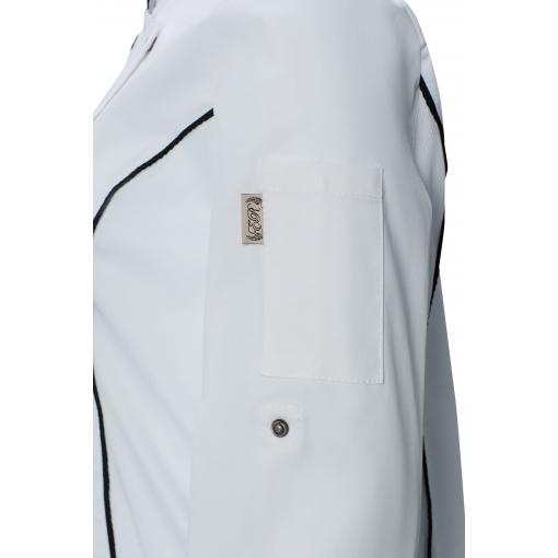 Китель поварской RICON (РИКОН) женский цвет white (белый)