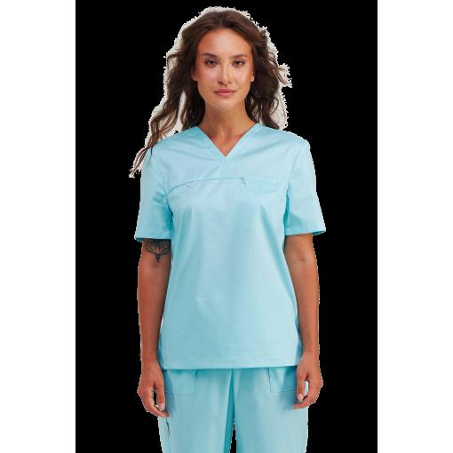 Медицинский женский топ OPTIMAL мятный